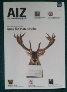Das Immobilienmagazin AIZ vom IVD (Immobilienverband Deutschland)