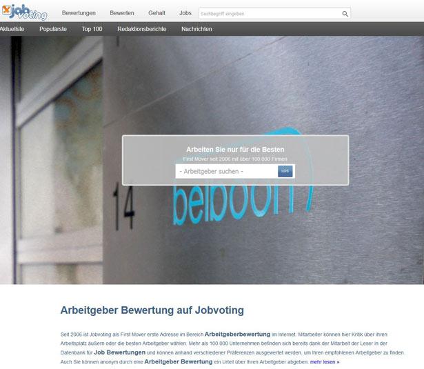 Jobvoting Screenshot
