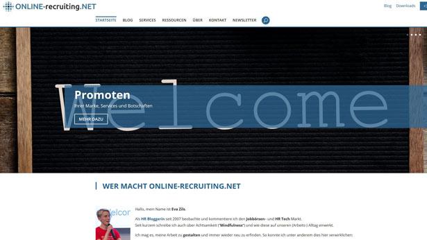 Online-Recruiting.net Screenshot