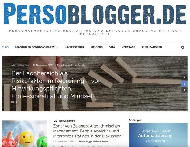 Persoblogger Screenshot
